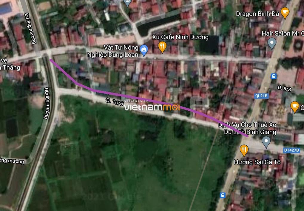Đường sẽ mở ở xã Thanh Cao, Thanh Oai, Hà Nội - Ảnh 2.