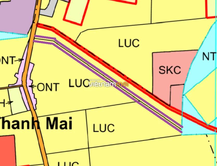 Đường sẽ mở ở xã Thanh Mai, Thanh Oai, Hà Nội - Ảnh 1.
