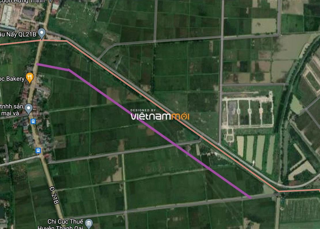 Đường sẽ mở ở xã Thanh Mai, Thanh Oai, Hà Nội - Ảnh 2.