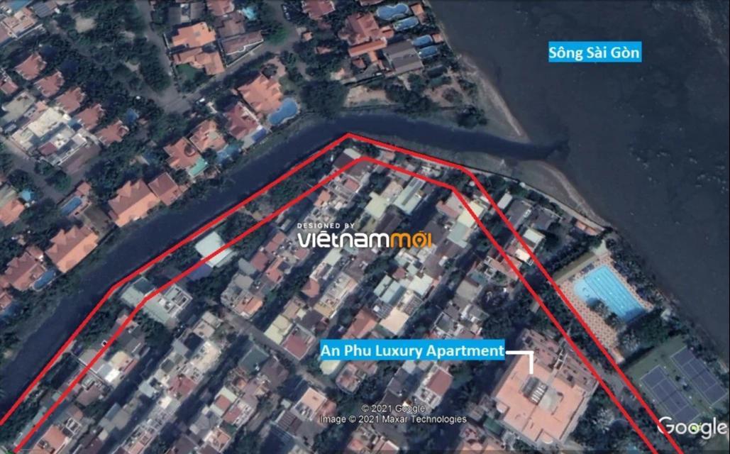 Đường sẽ mở theo quy hoạch ở phường Thảo Điền, Quận 2, TP HCM (phần 2) - Ảnh 3.