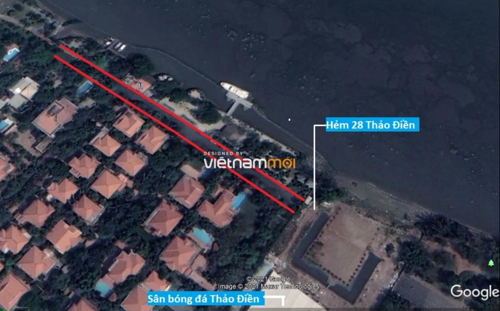 Đường sẽ mở theo quy hoạch ở phường Thảo Điền, Quận 2, TP HCM (phần 2) - Ảnh 6.