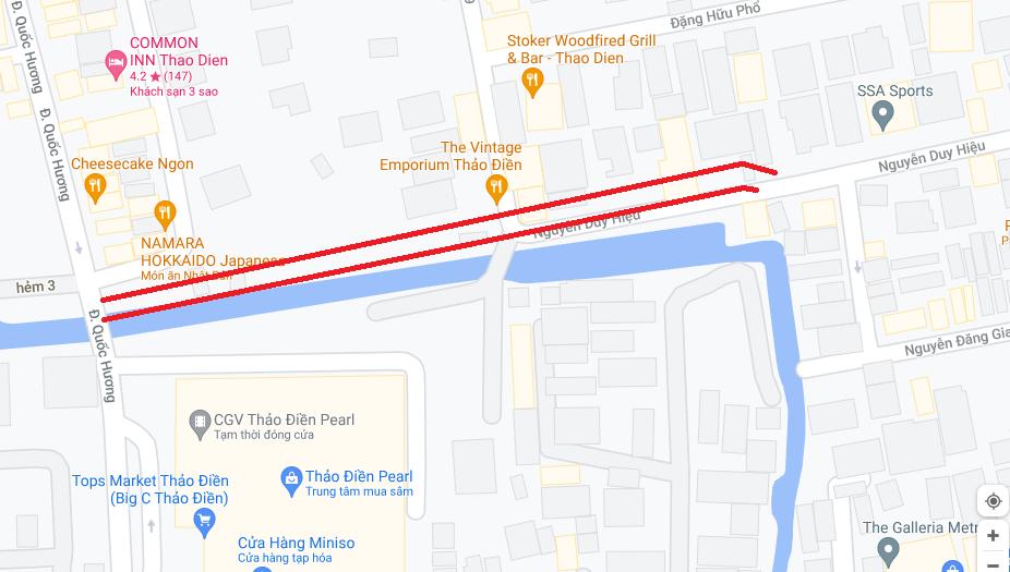 Đường sẽ mở theo quy hoạch ở phường Thảo Điền, Quận 2, TP HCM (phần 3) - Ảnh 2.