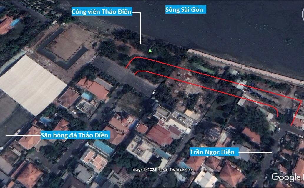 Đường sẽ mở theo quy hoạch ở phường Thảo Điền, Quận 2, TP HCM (phần 2) - Ảnh 8.