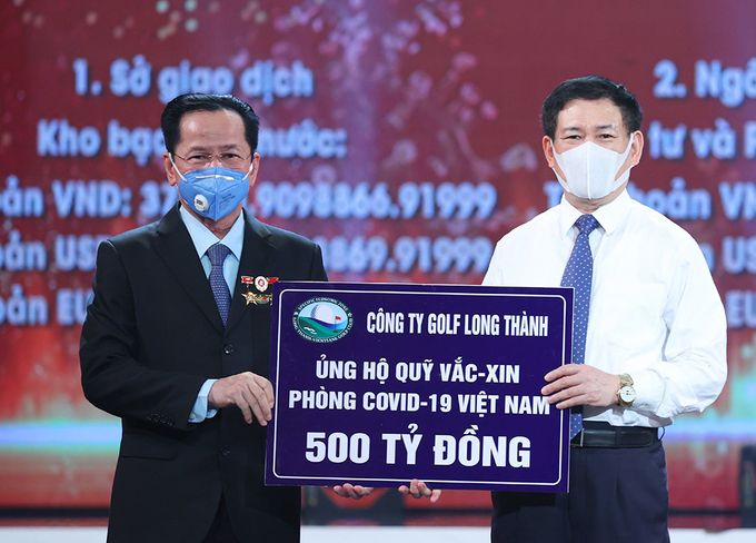 Góp 500 tỷ cho Quỹ vắc xin, Golf Long Thành của ông Lê Văn Kiểm làm ăn ra sao? - Ảnh 1.