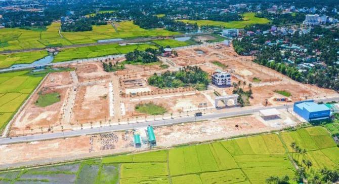 Hàng loạt dự án BĐS tại Bình Định chưa đủ điều kiện kinh doanh đã rao bán - Ảnh 1.