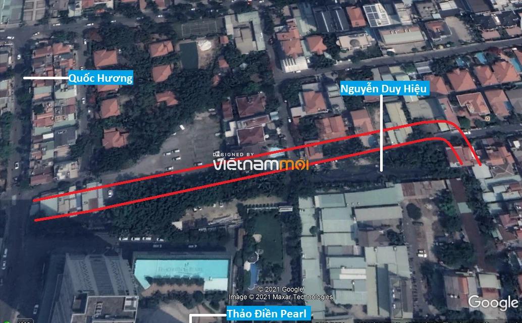 Đường sẽ mở theo quy hoạch ở phường Thảo Điền, Quận 2, TP HCM (phần 3) - Ảnh 3.