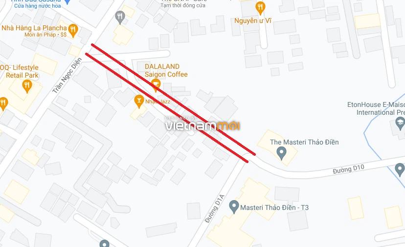 Đường sẽ mở theo quy hoạch ở phường Thảo Điền, Quận 2, TP HCM (phần 3) - Ảnh 6.