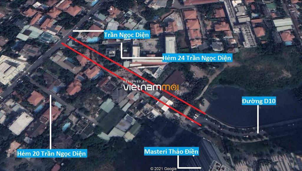 Đường sẽ mở theo quy hoạch ở phường Thảo Điền, Quận 2, TP HCM (phần 3) - Ảnh 7.