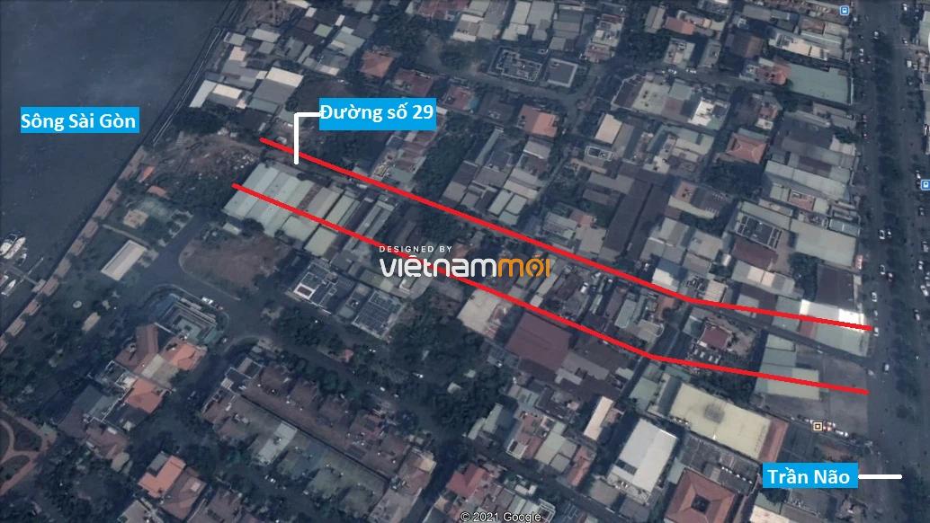 Đường sẽ mở theo quy hoạch ở phường Bình An, Quận 2, TP HCM (phần 1) - Ảnh 6.