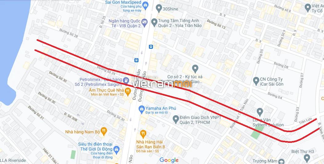 Đường sẽ mở theo quy hoạch ở phường Bình An, Quận 2, TP HCM (phần 1) - Ảnh 5.
