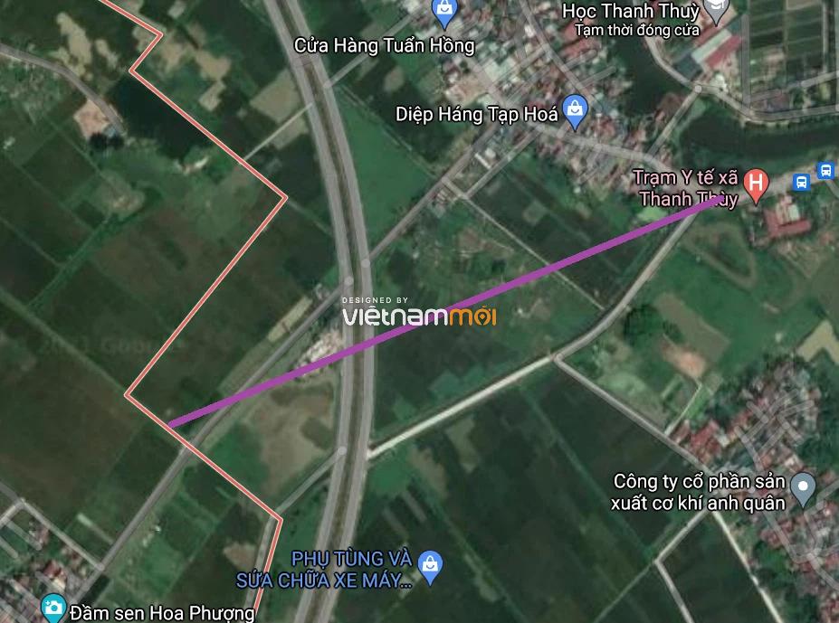 Đường sẽ mở ở xã Thanh Thùy, Thanh Oai, Hà Nội - Ảnh 2.