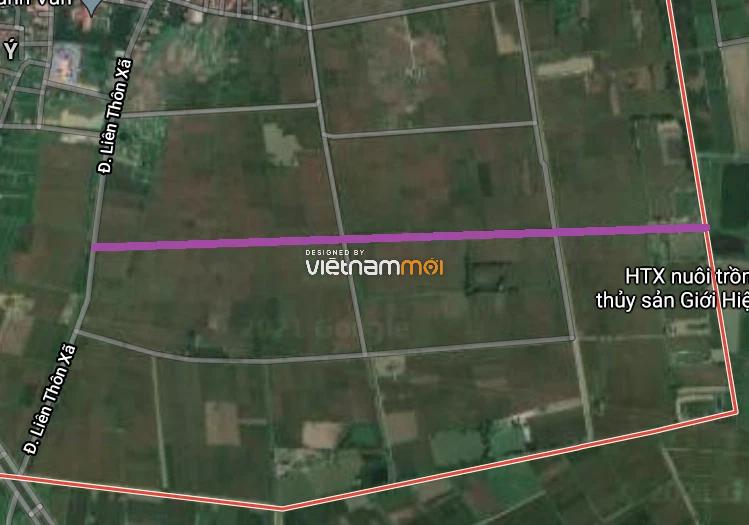 Đường sẽ mở ở xã Thanh Văn, Thanh Oai, Hà Nội - Ảnh 2.