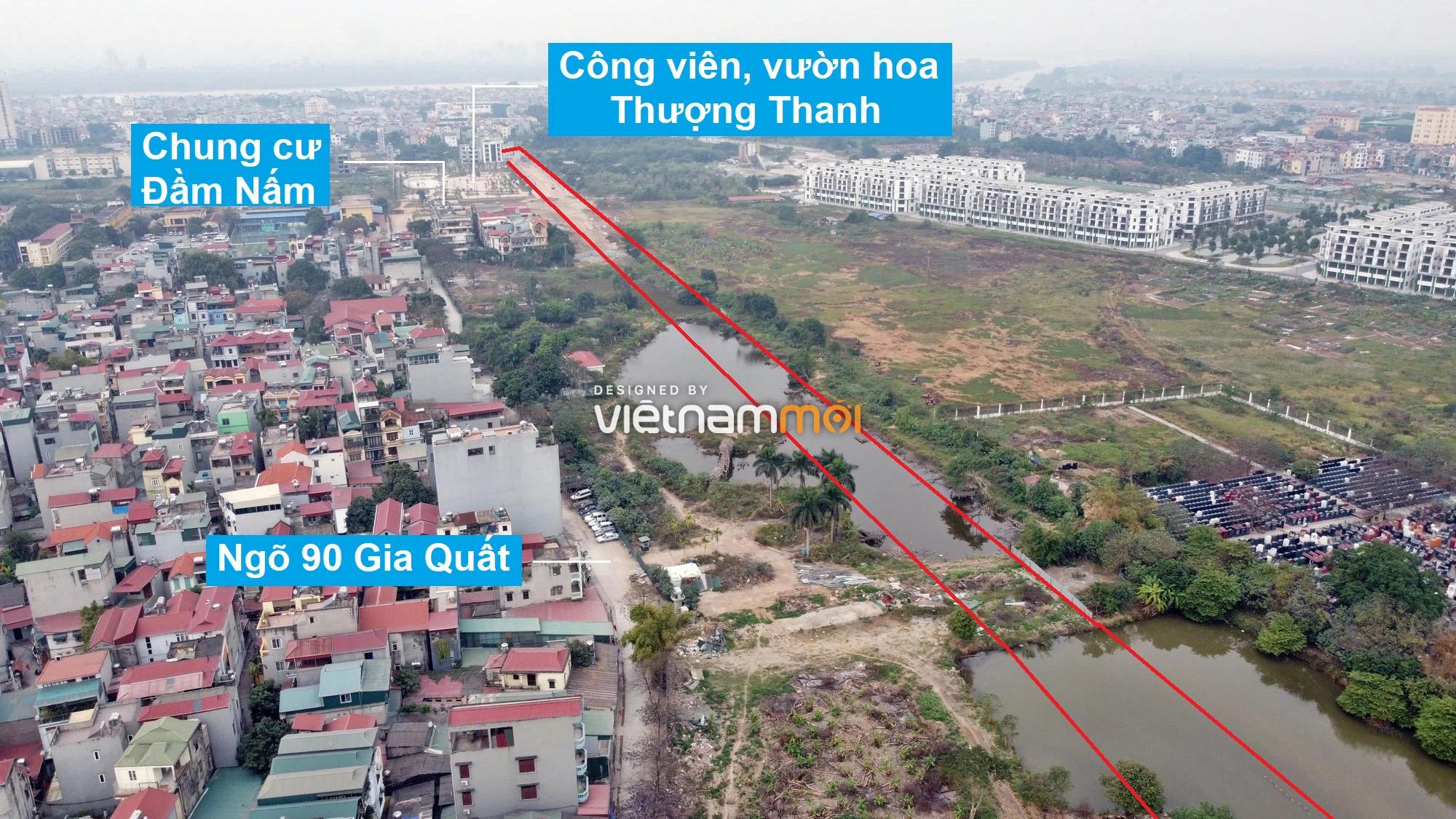 Những khu đất sắp thu hồi để mở đường ở phường Thượng Thanh, Long Biên, Hà Nội (phần 2) - Ảnh 4.