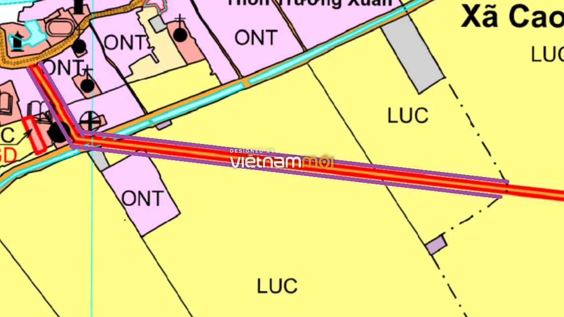 Đường sẽ mở ở xã Xuân Dương, Thanh Oai, Hà Nội - Ảnh 1.