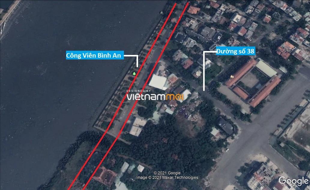Đường sẽ mở theo quy hoạch ở phường Bình An, Quận 2, TP HCM (phần 2) - Ảnh 6.