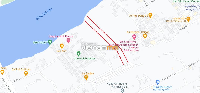 Đường sẽ mở theo quy hoạch ở phường Bình An, Quận 2, TP HCM (phần 2) - Ảnh 9.