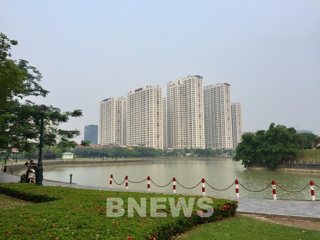 'Thành phố Giao lưu' ở Hà Nội đang bị các đối tượng 'nhảy dù' chiếm đất - Ảnh 1.