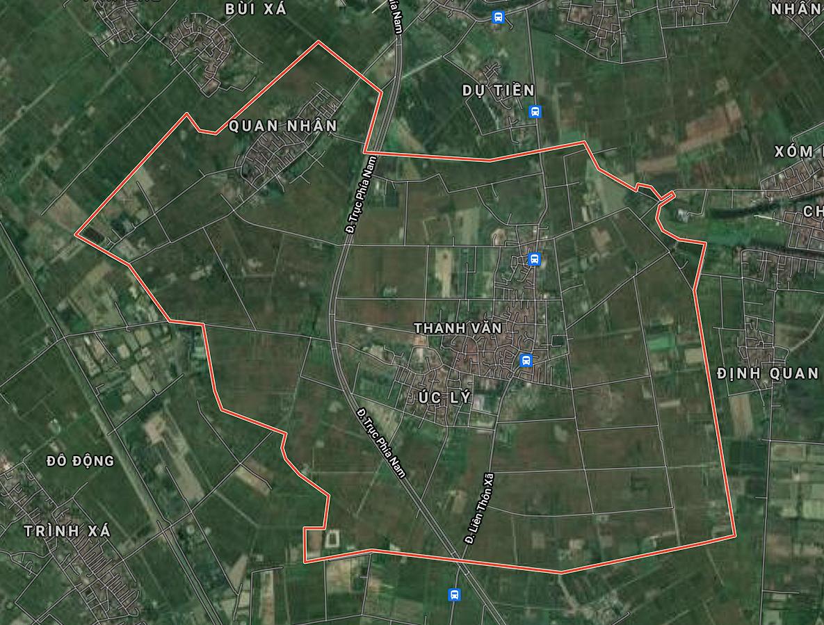 Bản đồ quy hoạch sử dụng đất xã Thanh Văn, Thanh Oai, Hà Nội - Ảnh 1.