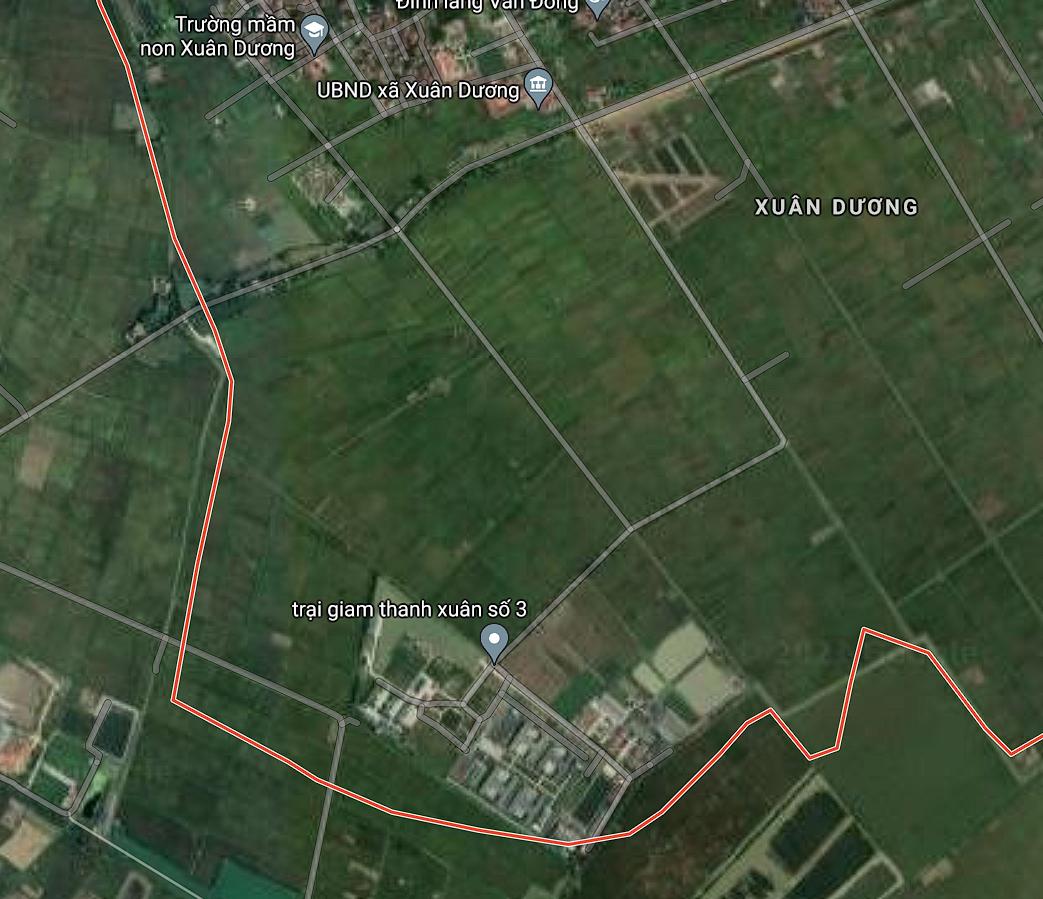 Đất dính quy hoạch ở xã Xuân Dương, Thanh Oai, Hà Nội - Ảnh 2.