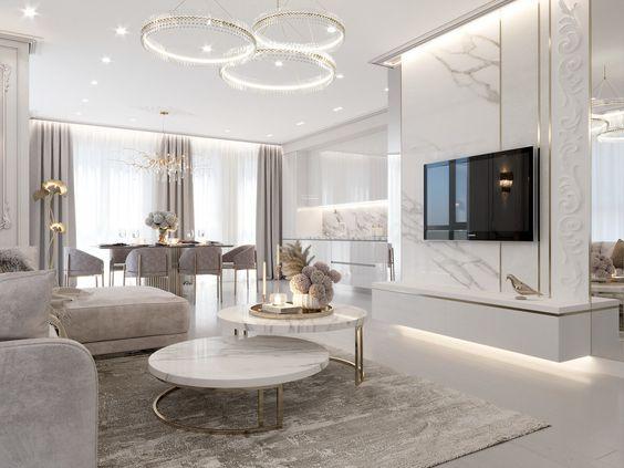 Kinh nghiệm trang trí nội thất chung cư hiện đại và sang trọng - Ảnh 1.