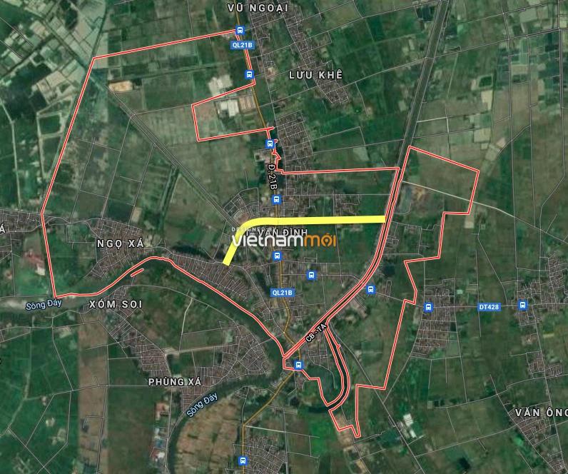 Đường sẽ mở ở thị trấn Vân Đình, Ứng Hoà, Hà Nội - Ảnh 2.