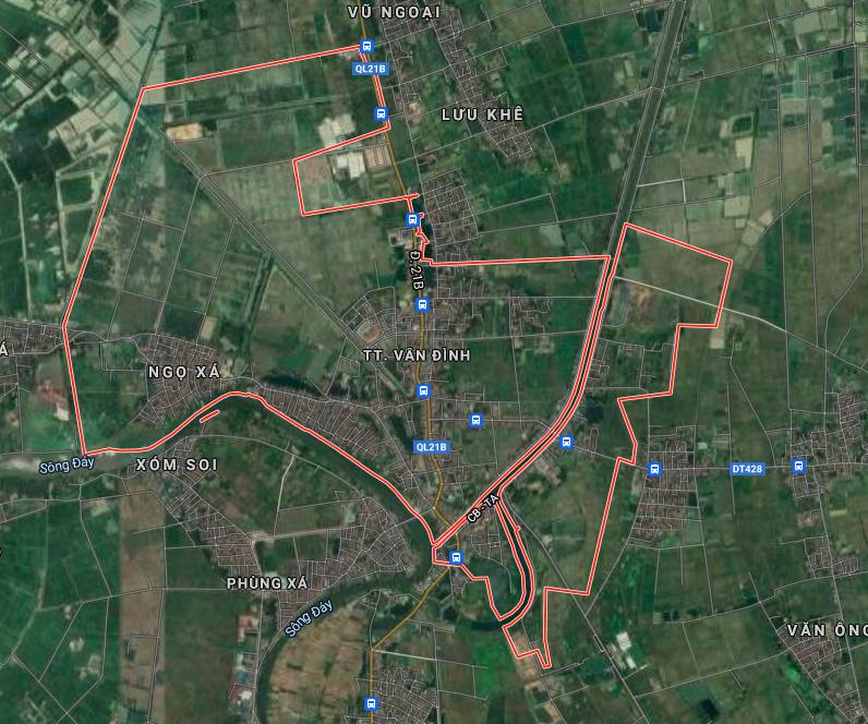 Đất dính quy hoạch ở thị trấn Vân Đình, Ứng Hoà, Hà Nội - Ảnh 2.