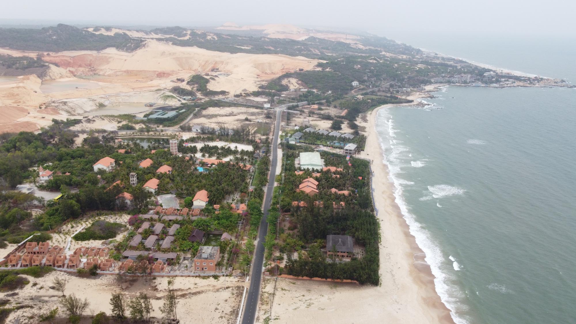 Bình Thuận rút ngắn thời gian thi công đường ven biển Phan Thiết – Kê Gà còn 30 tháng - Ảnh 1.