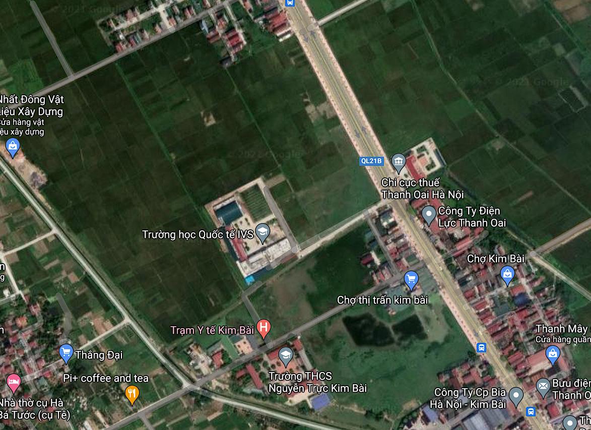 Đất dính quy hoạch ở thị trấn Kim Bài, Thanh Oai, Hà Nội - Ảnh 2.