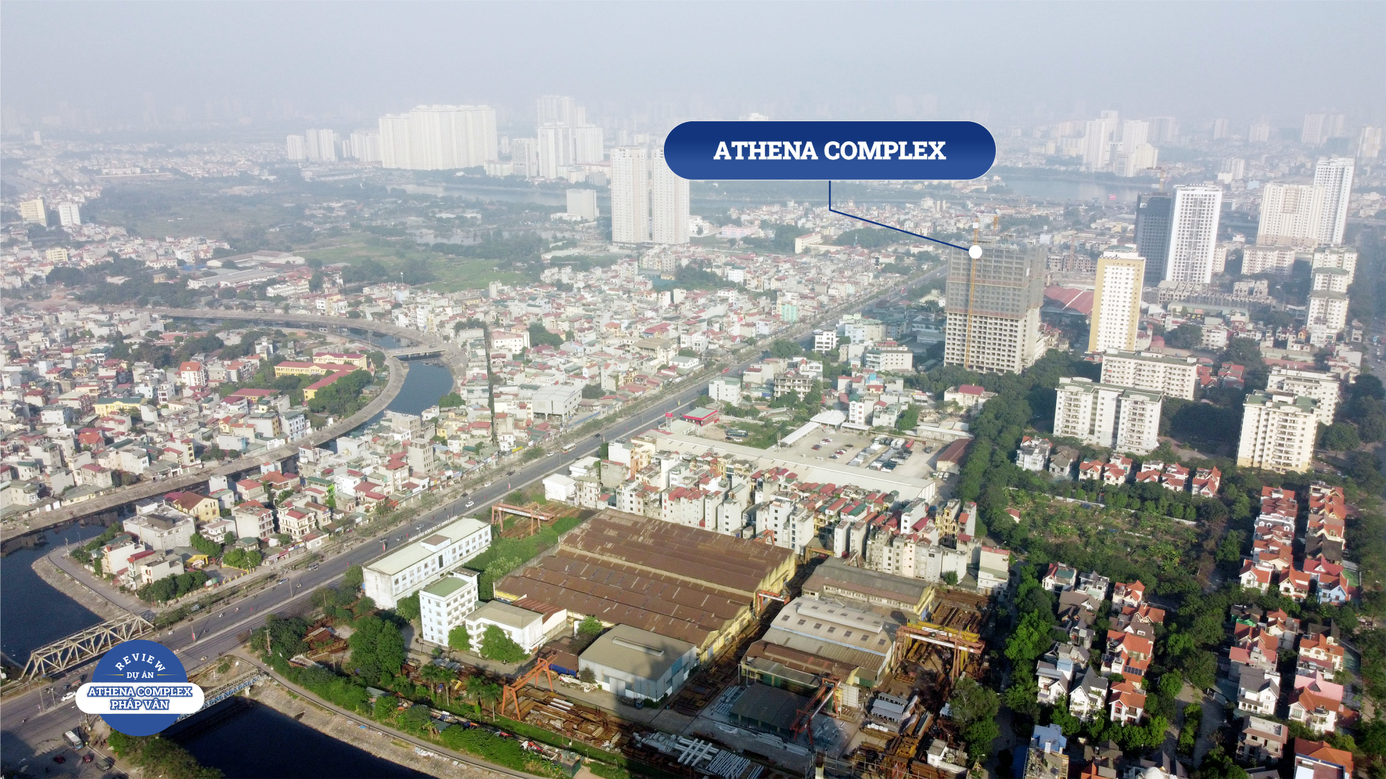 Review dự án Athena Complex Pháp Vân đang mở bán: Gần nhiều tuyến giao thông huyết mạch phía nam Hà Nội - Ảnh 1.