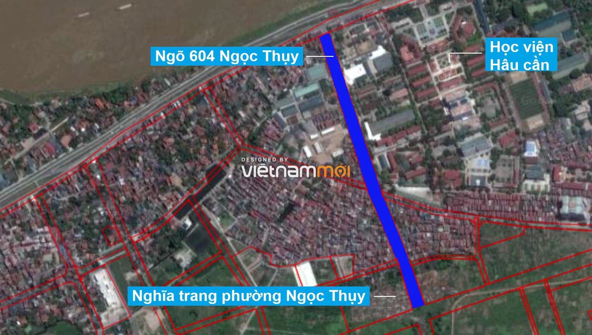 Những khu đất sắp thu hồi để mở đường ở phường Ngọc Thụy, Long Biên, Hà Nội (phần 1) - Ảnh 2.