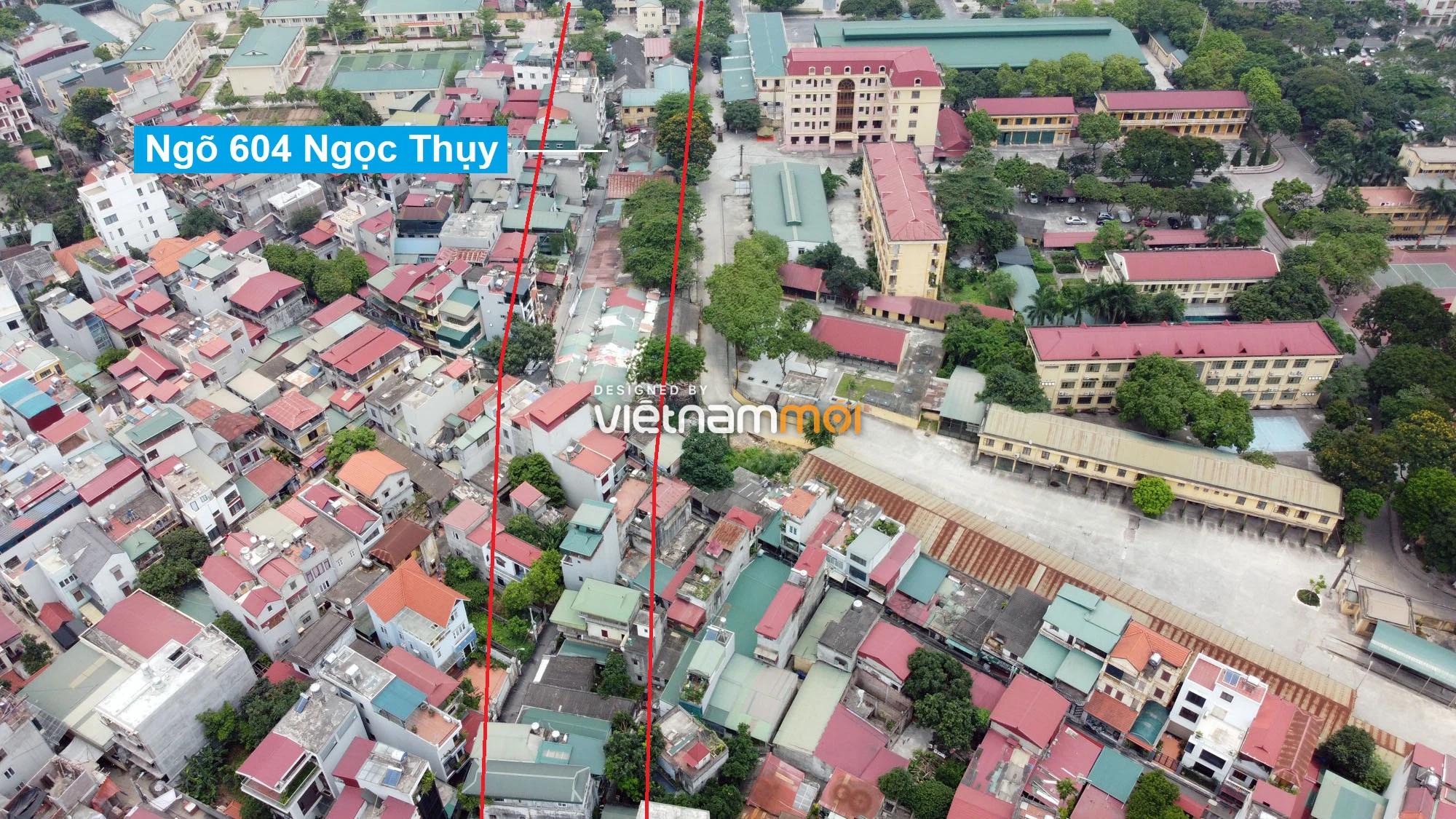 Những khu đất sắp thu hồi để mở đường ở phường Ngọc Thụy, Long Biên, Hà Nội (phần 1) - Ảnh 4.