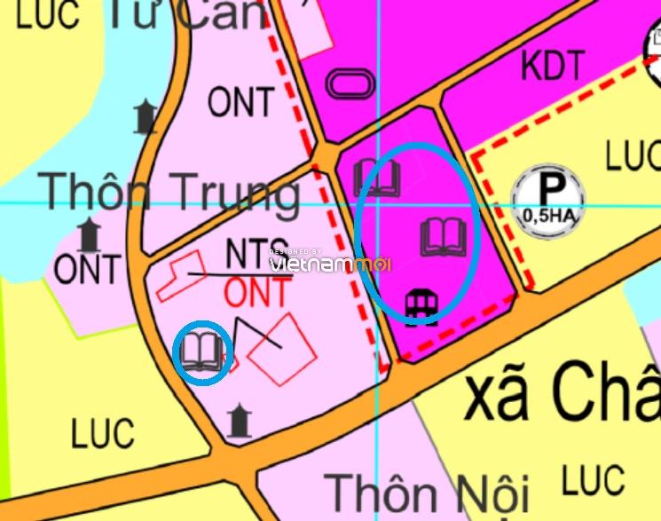 Đất dính quy hoạch ở xã Châu Can, Phú Xuyên, Hà Nội - Ảnh 1.