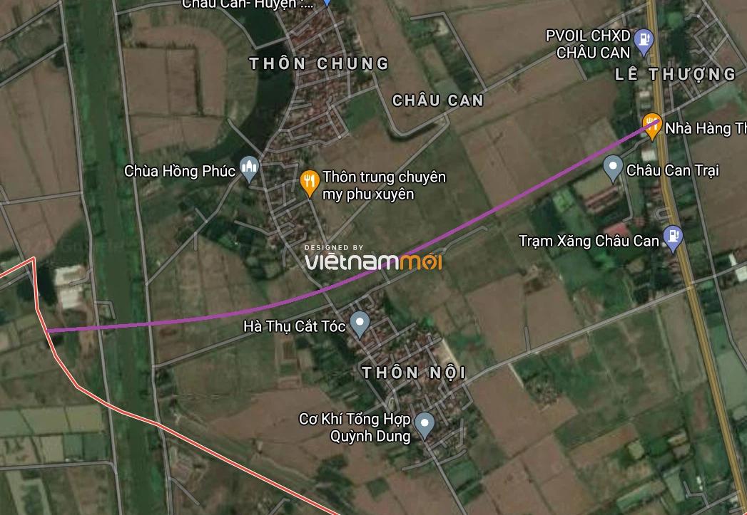 Đường sẽ mở ở xã Châu Can, Phú Xuyên, Hà Nội - Ảnh 2.