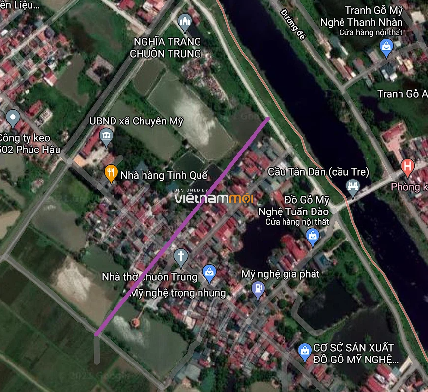 Đường sẽ mở ở xã Chuyên Mỹ, Phú Xuyên, Hà Nội - Ảnh 2.