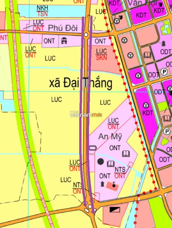 Đường sẽ mở ở xã Đại Thắng, Phú Xuyên, Hà Nội - Ảnh 1.