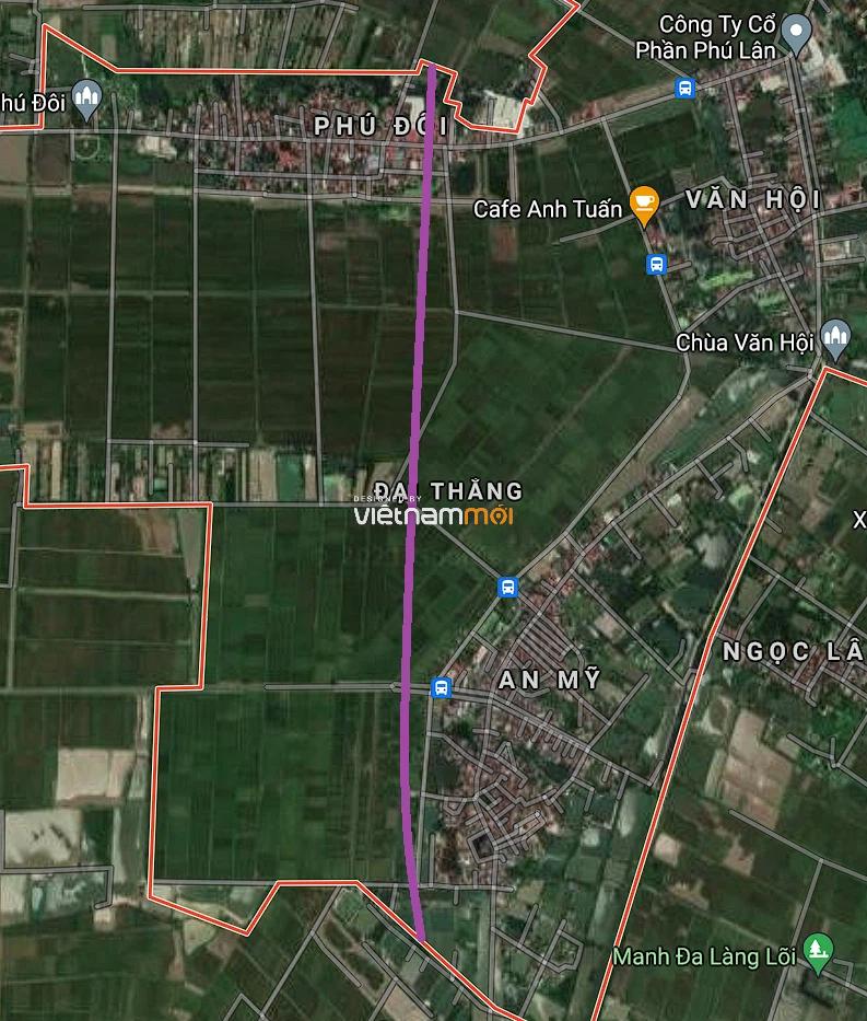 Đường sẽ mở ở xã Đại Thắng, Phú Xuyên, Hà Nội - Ảnh 2.