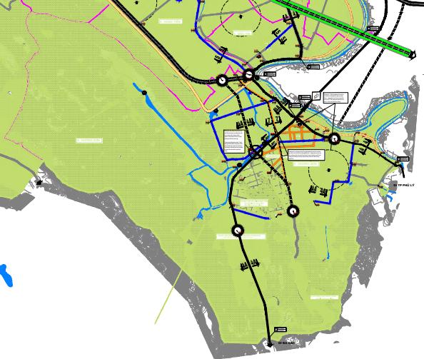 Bản đồ quy hoạch giao thông xã Hương Sơn, Mỹ Đức, Hà Nội - Ảnh 2.