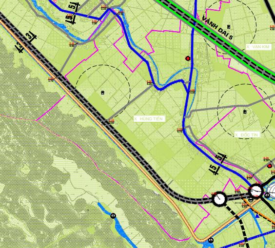Bản đồ quy hoạch giao thông xã Hùng Tiến, Mỹ Đức, Hà Nội - Ảnh 2.