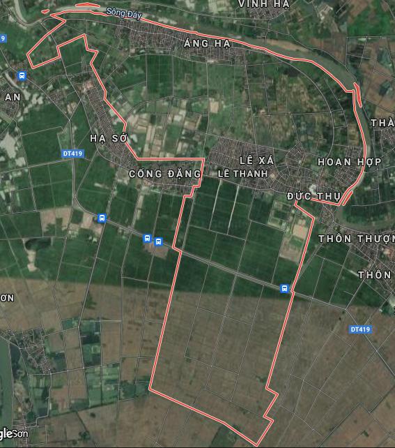 Bản đồ quy hoạch giao thông xã Lê Thanh, Mỹ Đức, Hà Nội - Ảnh 1.