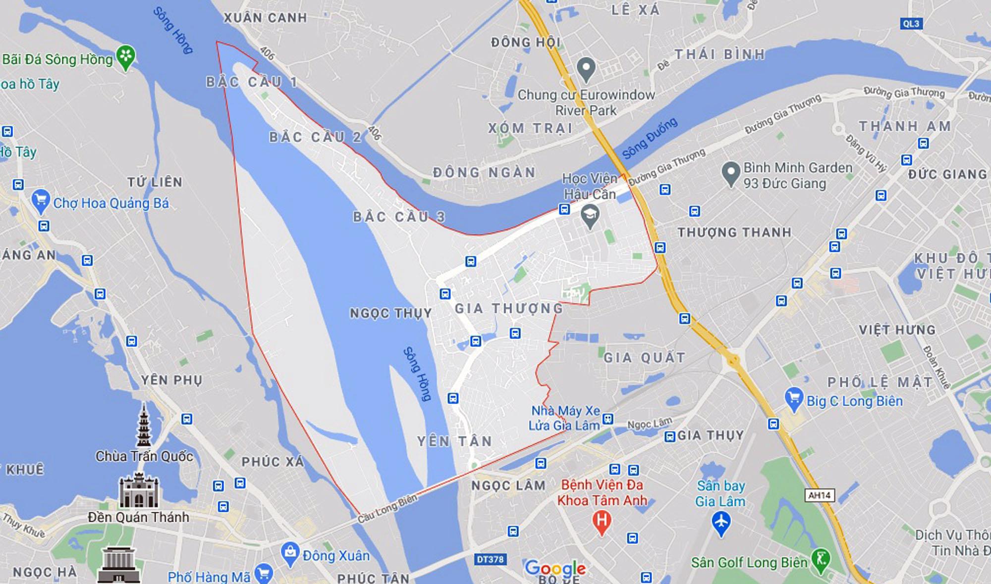Những khu đất sắp thu hồi để mở đường ở phường Ngọc Thụy, Long Biên, Hà Nội (phần 1) - Ảnh 1.