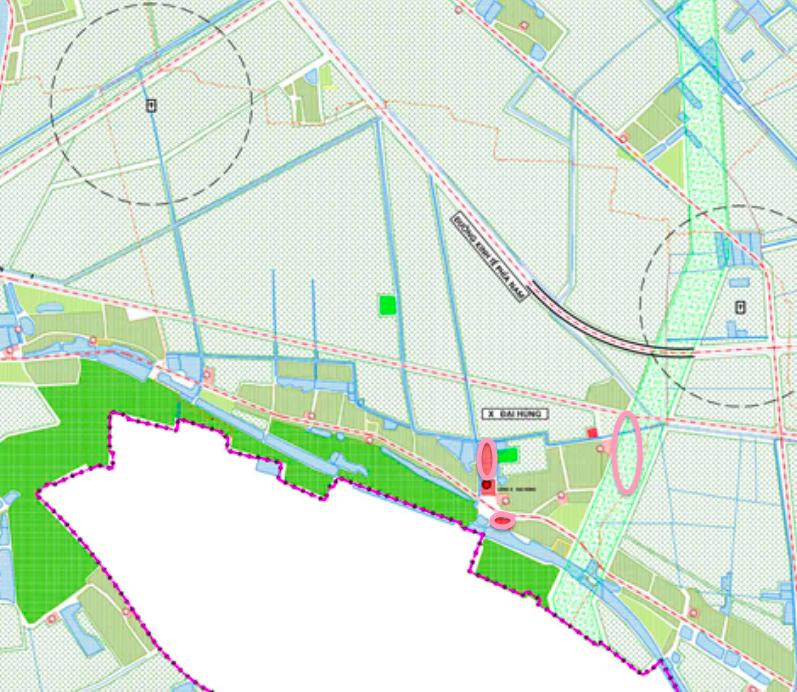 Đất dính quy hoạch ở xã Đại Hùng, Ứng Hoà, Hà Nội - Ảnh 1.