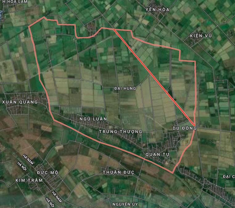 Đất dính quy hoạch ở xã Đại Hùng, Ứng Hoà, Hà Nội - Ảnh 2.