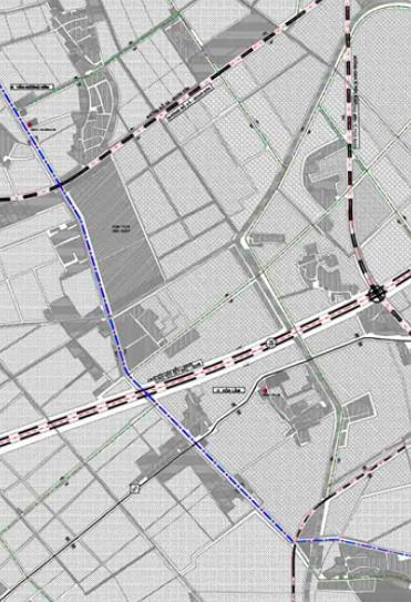 Bản đồ quy hoạch giao thông xã Hoà Lâm, Ứng Hoà, Hà Nội - Ảnh 2.
