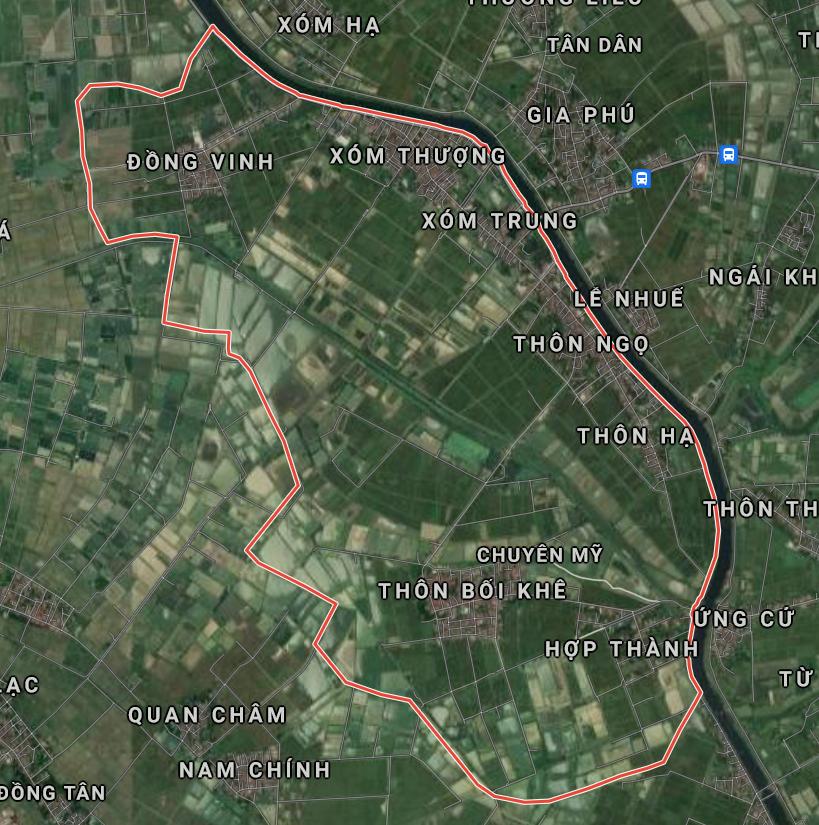 Kế hoạch sử dụng đất xã Chuyên Mỹ, Phú Xuyên, Hà Nội năm 2021 - Ảnh 1.