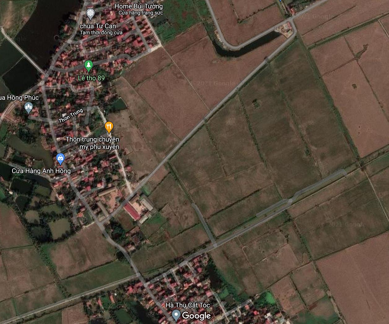 Đất dính quy hoạch ở xã Châu Can, Phú Xuyên, Hà Nội - Ảnh 2.