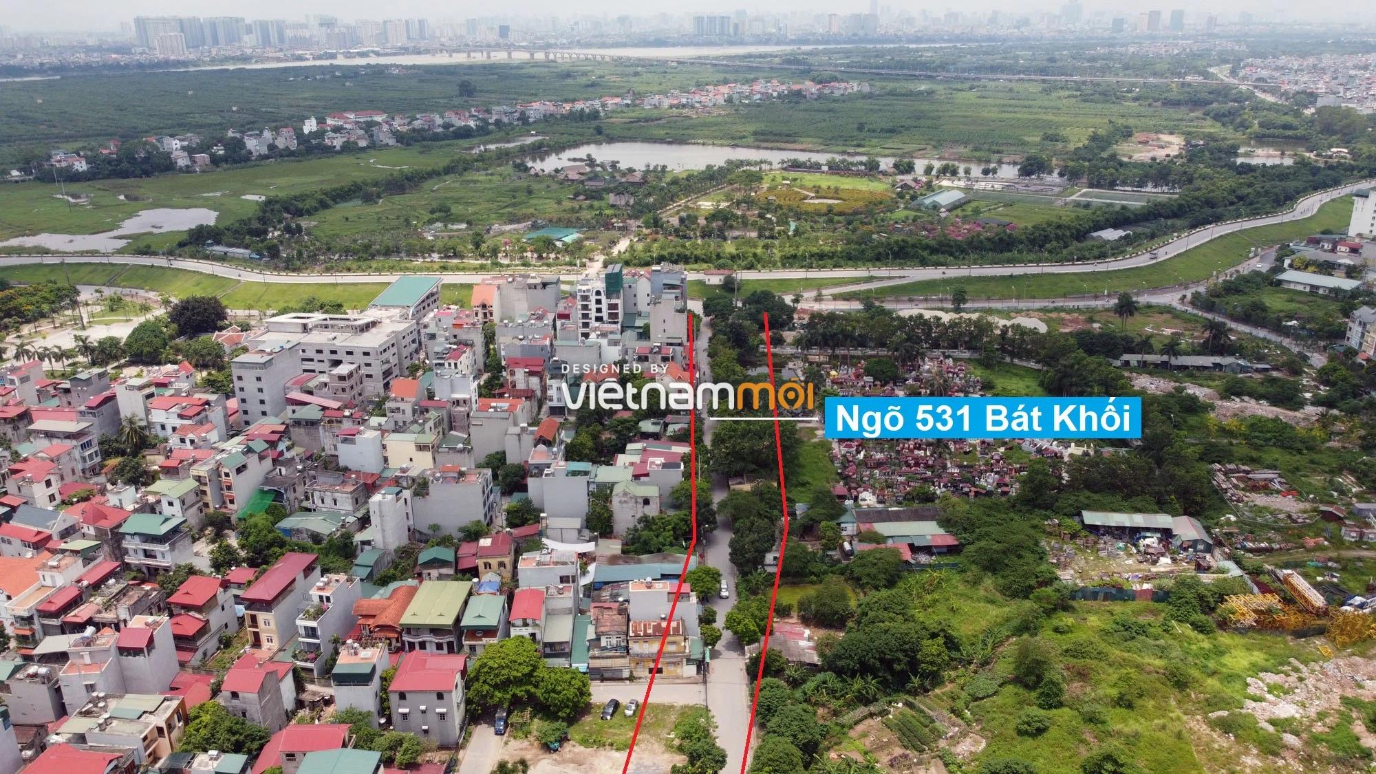 Đường sẽ mở theo quy hoạch ở phường Thạch Bàn, Long Biên, Hà Nội (phần 3) - Ảnh 4.