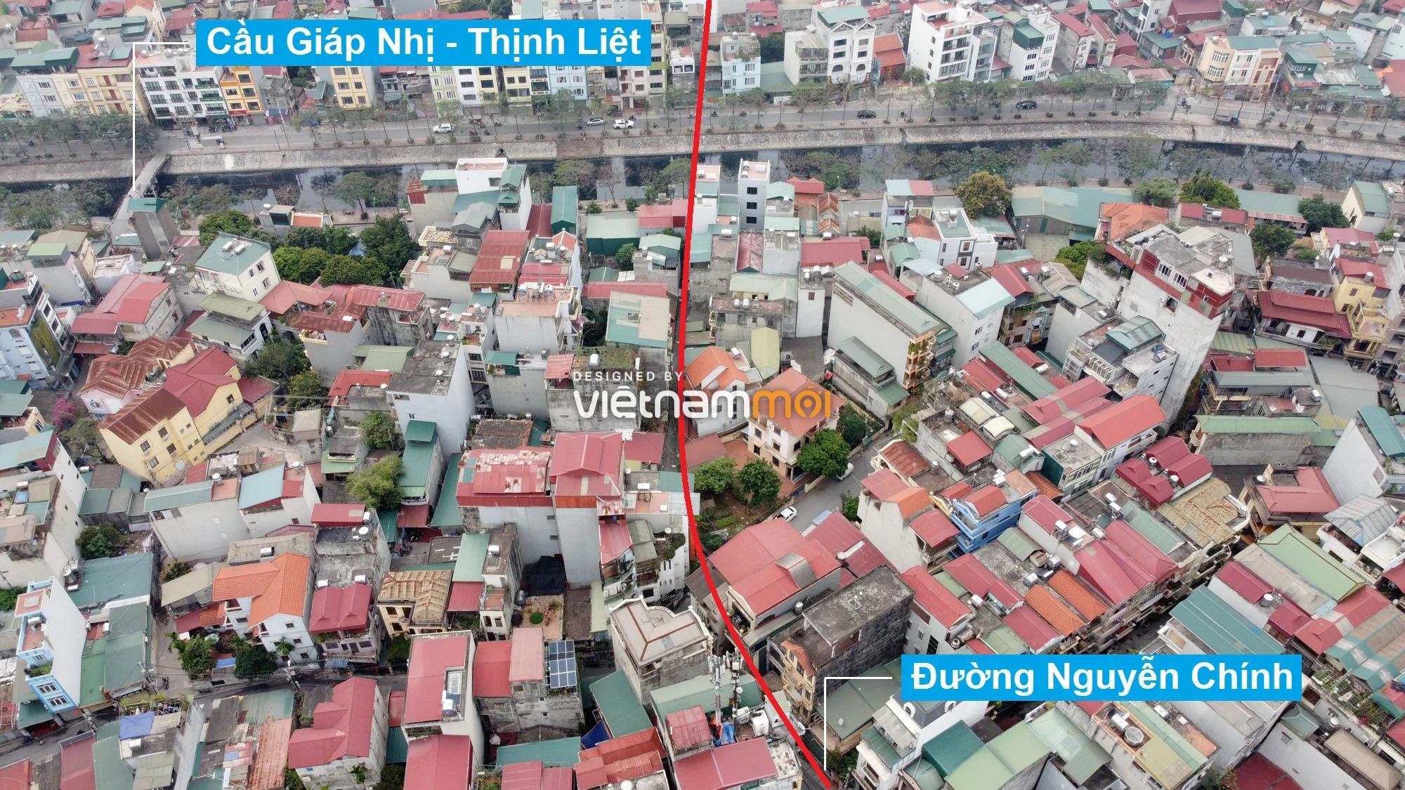 Đường sẽ mở theo quy hoạch ở phường Thịnh Liệt, Hoàng Mai, Hà Nội (phần 5) - Ảnh 2.