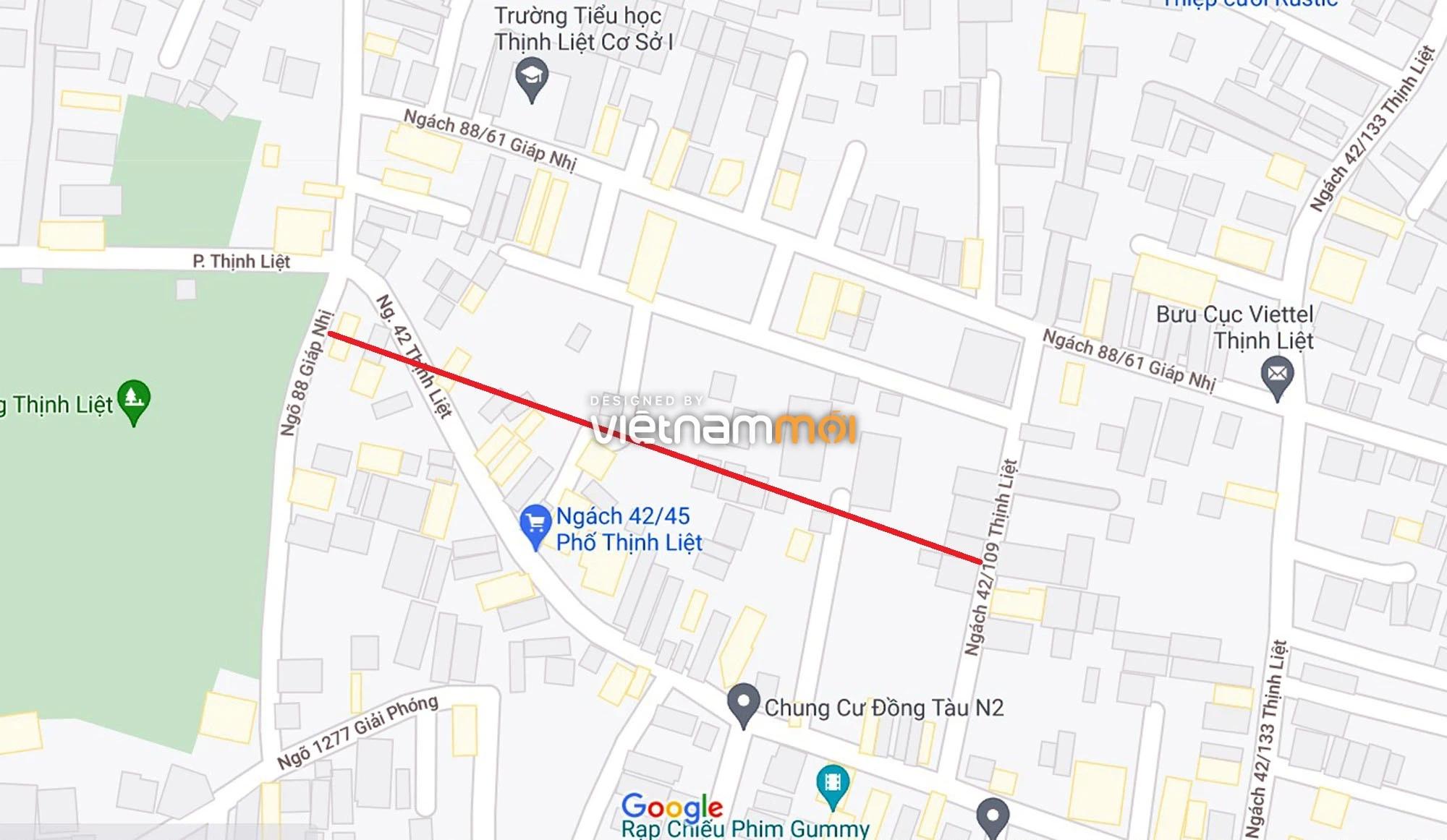 Đường sẽ mở theo quy hoạch ở phường Thịnh Liệt, Hoàng Mai, Hà Nội (phần 5) - Ảnh 8.