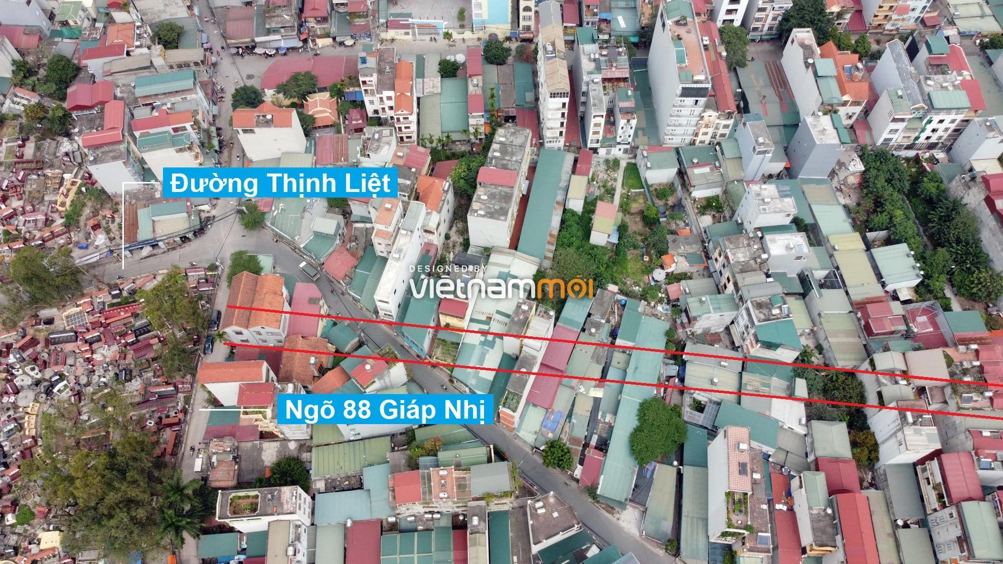 Đường sẽ mở theo quy hoạch ở phường Thịnh Liệt, Hoàng Mai, Hà Nội (phần 5) - Ảnh 9.