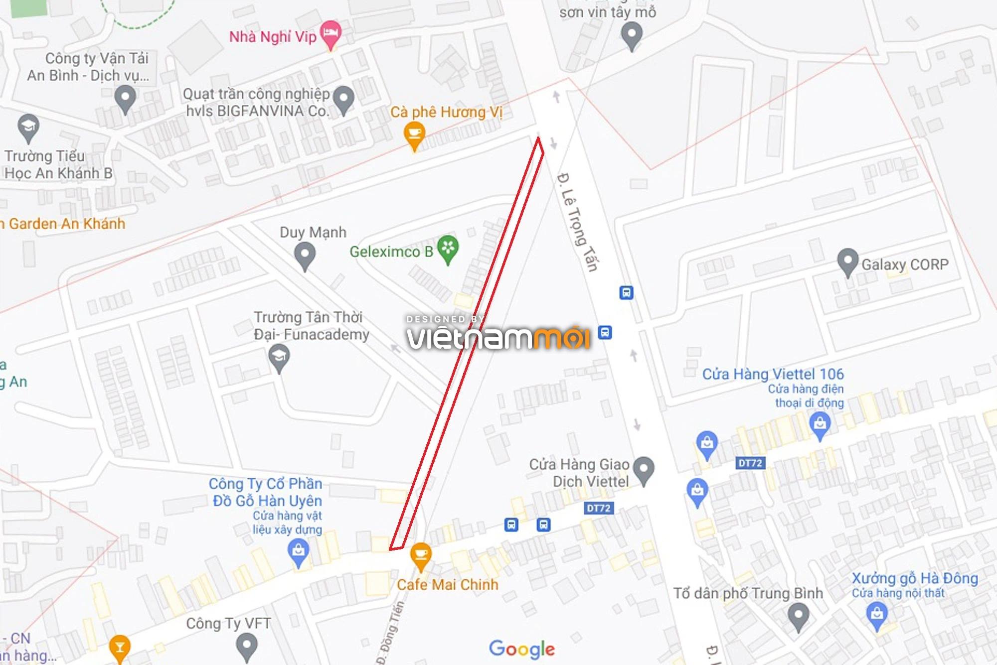 Đường sẽ mở theo quy hoạch ở phường Dương Nội, Hà Đông, Hà Nội (phần 2) - Ảnh 1.